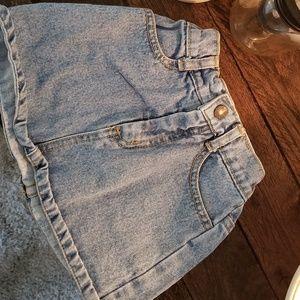 Vintage denim Guess skirt girls